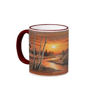 Kaffee-Tasse des indischen Sommers Ringer Tasse