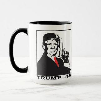 Kaffee-Tasse des Trumpf-.45 Tasse