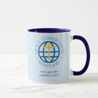 Kaffee-Tasse, dunkelblaues Innen- und Griff Tasse