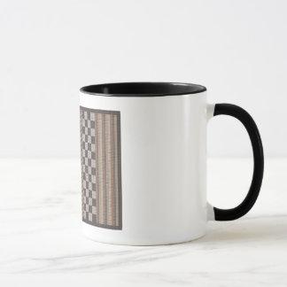 KAFFEE-TASSE: Karierte Vergangenheit Tasse