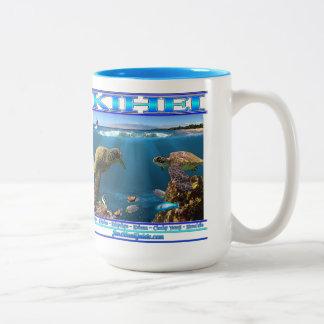 Kaffee-Tasse (Kihei 2018 Entwurf) Zweifarbige Tasse