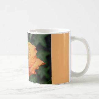 Kaffee-Tasse mit gelber Lilie Tasse