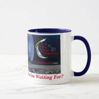 Kaffee-Tasse mit TLI Astronauten Tasse