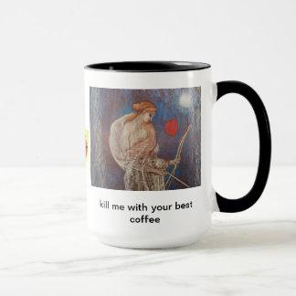 Kaffee-Tasse: romantisch töten Sie mich mit Ihrem Tasse