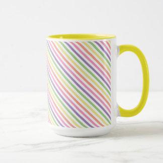 Kaffee-Tasse - Striped für gemalte Spinnen-Mama Tasse