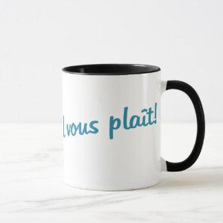 Kaffee-Tasse - UNO Café, s'il vous plaît! Tasse
