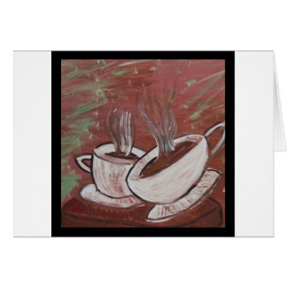 Kaffee? Tee? Karte