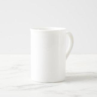 Kaffee, Tee, Suppe, Apfelwein oder anderes Porzellantasse