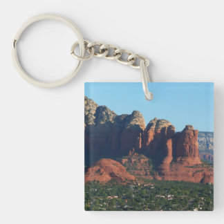 Kaffee-Topf-Felsen I in Sedona Arizona Schlüsselanhänger