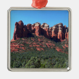 Kaffee-Topf-Felsen II in Sedona Arizona Silbernes Ornament