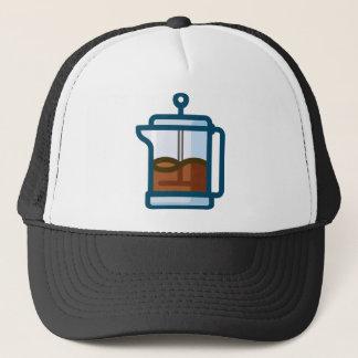 Kaffee-Topf Truckerkappe