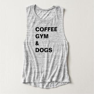Kaffee-Turnhalle u. Hundet-stück Tank Top