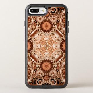 Kaffee-u. Creme-Mandala OtterBox Symmetry iPhone 8 Plus/7 Plus Hülle