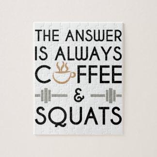 Kaffee u. Hocken 2 Puzzle