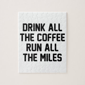 Kaffee u. Lauf Puzzle