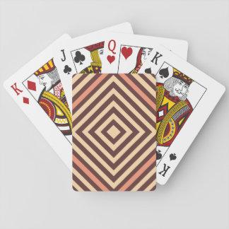 Kaffee und Creme Spielkarten