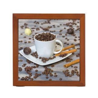 Kaffee und Gewürze Stifthalter