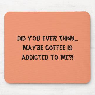 Kaffee und ich! mousepad