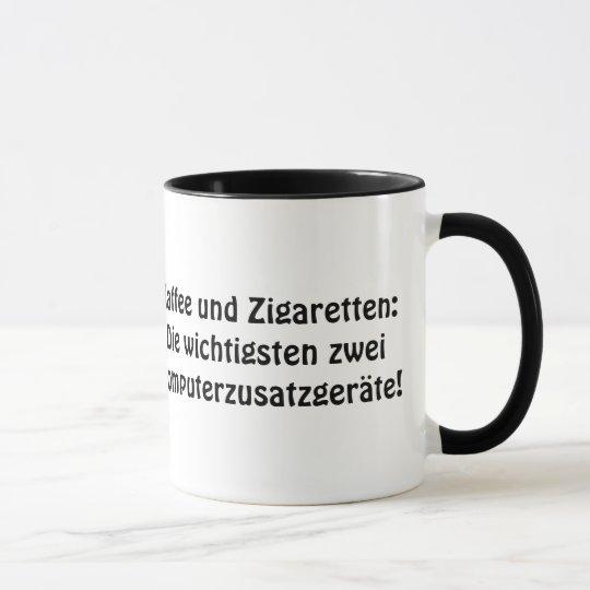 """""""Kaffee und Zigaretten: Die wichtigsten zwei .... Tasse"""
