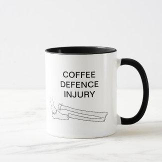 KAFFEE-VERTEIDIGUNGS-VERLETZUNG TASSE