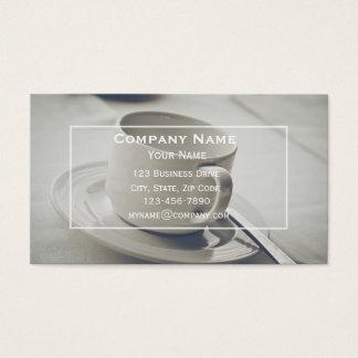 Kaffee-Visitenkarte Visitenkarte
