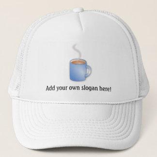 Kaffee-Zeit! Dämpfende Tassen-Grafik Truckerkappe