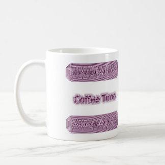 Kaffee-Zeit Kaffeetasse