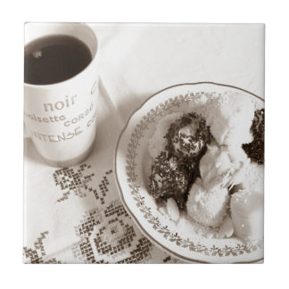 Kaffee-Zeit Keramikfliese