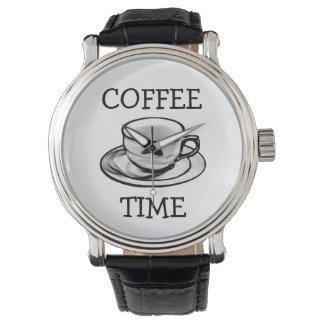 Kaffee-Zeit Uhr