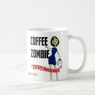 Kaffee-Zombie-Tasse
