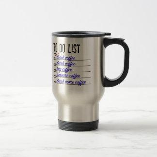 Kaffee Zu-tun-Liste rostfreier Stahl 15 Edelstahl Thermotasse