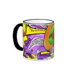 Kaffeebecher mit Design Teehaferl