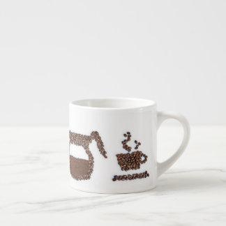 Kaffeebohne Espresso-Tasse Espressotasse
