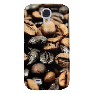 Kaffeebohne-Hintergrund Galaxy S4 Hülle