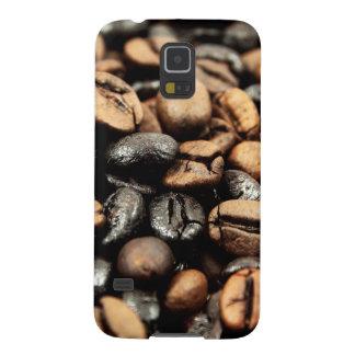 Kaffeebohne-Hintergrund Samsung S5 Hüllen