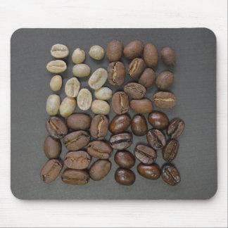 Kaffeebohne-Mausunterlage Mousepads