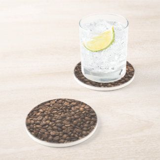 Kaffeebohne-Sandstein-Getränk-Untersetzer Untersetzer