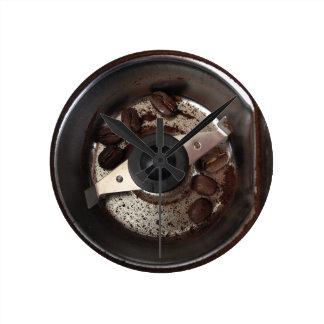 Kaffeebohne-Schleifer mit Bohnen Uhr