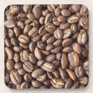 Kaffeebohnebeschaffenheit Getränkeuntersetzer