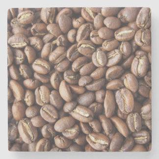 Kaffeebohnebeschaffenheit Steinuntersetzer