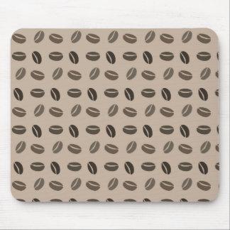 Kaffeebohnen gerade Bohnen! Mousepads
