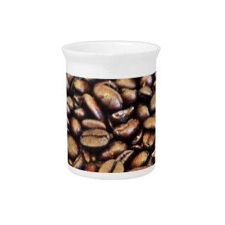 Kaffeebohnen Krug