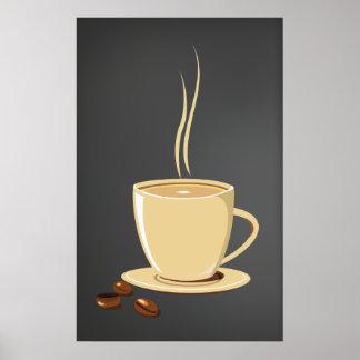Kaffeebohnen Poster