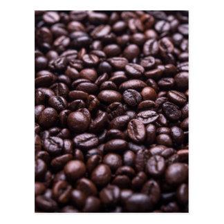 Kaffeebohnen Postkarte