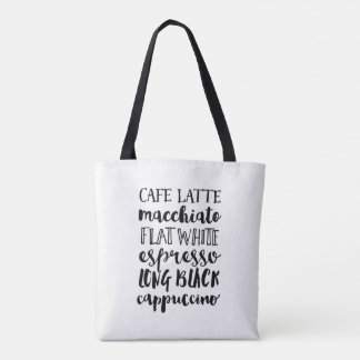 Kaffeeliebhaber-Taschentasche Tasche