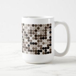Kaffeemosaik - Stellen von E Kaffeetasse