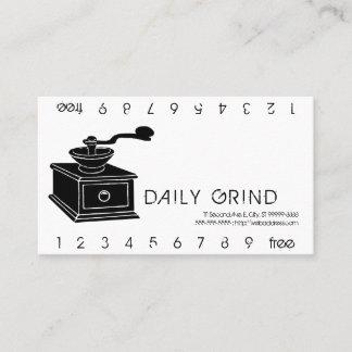 Coffee Grinder / Loyalty Punch
