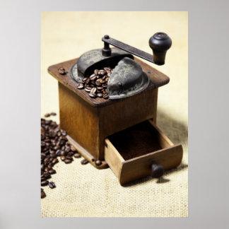 Kaffeemühle Poster