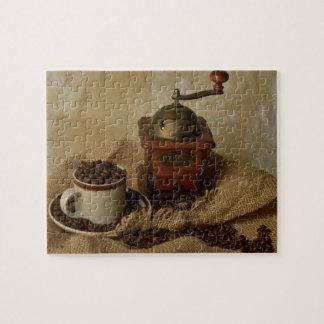 Kaffeemühle und Schale Puzzle