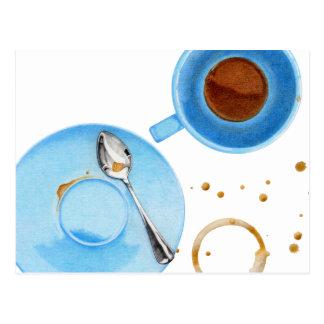 Kaffeepause-Postkarte Postkarte